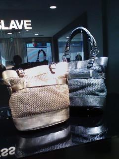 ★COBRA/SNAKE MESH bag&LEATHER METALIIK bag★