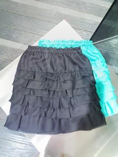 ★シアーローンティアードスカート★