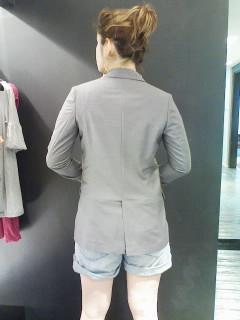 ★ギャバテーラードロングジャケット★