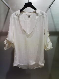 ★ダブルガーゼシャツ&裾フリルインナーキャミ★