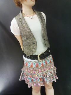 ★プリントスカート着回し術★